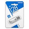 Накопитель USB Flash (флешка) 128Gb SmartBuy V-Cut Silver (USB 3.0)