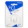 Накопитель USB Flash (флешка) SmartBuy LARA  32Gb  White (белый)