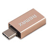 Переходник OTG (адаптер) USB 3.0 (f) - USB Type-C (m), REMAX RA-OTG1, Gold