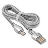 Кабель USB 2.0 (m) -- micro USB 2.0 (m) REMAX King, 1 метр, 2А, Silver
