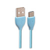 Кабель USB 2.0 (Am) --  USB Type-C (m) REMAX Lesu, 1 метр, синий
