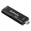 Картридер DEFENDER  Speed Stick Type-C, USB3.0/SD/TF