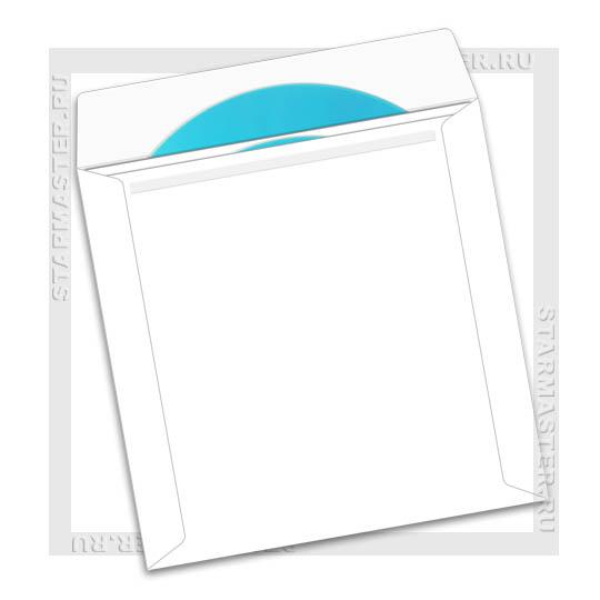 Конверт бумажный для 2 CD/DVD