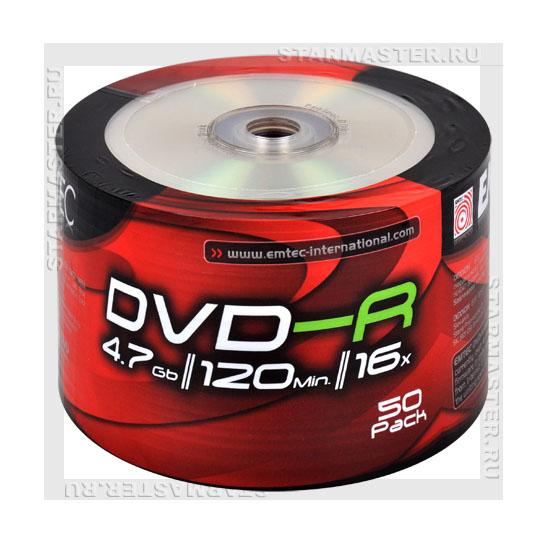 Диски (болванки) EMTEC DVD-R 4
