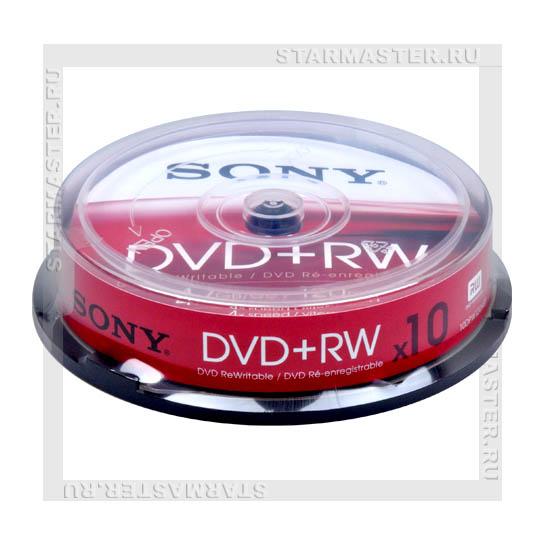Диски (болванки) Sony DVD+RW 4
