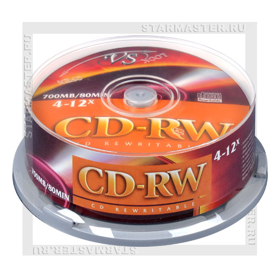 Диски (болванки) VS CD-RW